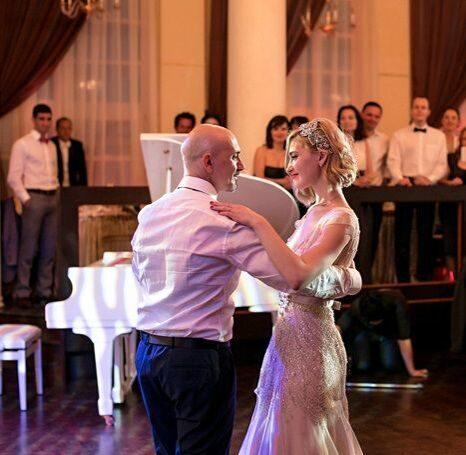 Танец дочки с папой на свадьбе